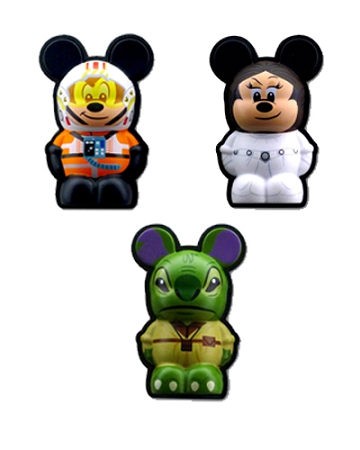 Disney Vinylmation 3D Pins - Star Wars Disney Characters Set 1