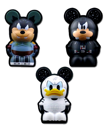 Disney Vinylmation 3D Pins - Star Wars Disney Characters Set II