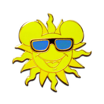 Disney Sunshine Mickey Pin - Mickey Icon