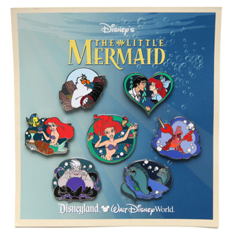 Disney Princess Pin Set - Little Mermaid