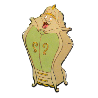 Disney Beauty and the Beast Pin - The Wardrobe