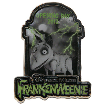 Disney Frankenweenie Pin - Opening Day - Limited Edition