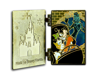 Disney Attraction Poster Series Pin - The Haunted - Limited Edition