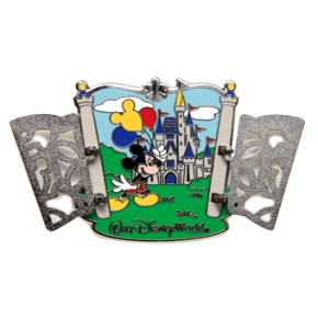Disney Cinderella Castle Pin - Magic Kingdom Gates