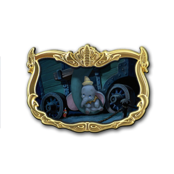 Disney Dumbo Storybook Circus Illustrative Pin - Mother