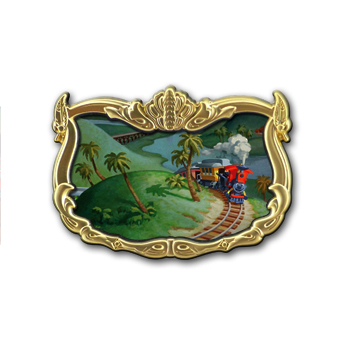 Disney Dumbo Storybook Circus Illustrative Pin - Casey Jr. - LE