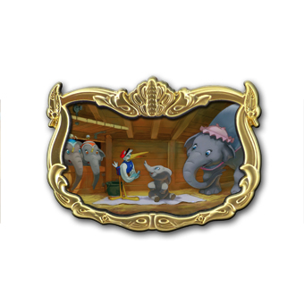 Disney Dumbo Storybook Circus Illustrative Pin - Dumbo - LE