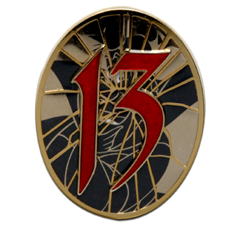 Disney 13 Event Countdown Collections Pin - The Queen of Hearts - LE