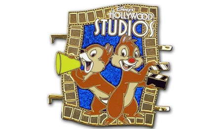 Disney Passholder Pin - Puzzle Set - Hollywood Studios Chip Dale - LE
