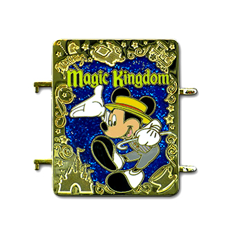 Disney Passholder Pin - Puzzle Set - Magic Kingdom Mickey Mouse - LE