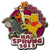 Disney Spring Pin - 2013 Spring Has Sprung - Winne the Pooh - LE