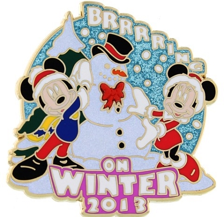 Disney Winter Pin - 2013 Brrrrring on Winter - Limited Edition