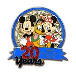 Disney Marathon Pin - 2013 Disney Family Fun Run - LE