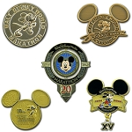 Disney Marathon Pin Set - 2013 Walt Disney World Marathon Medal Set