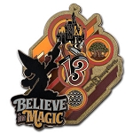 Disney 2013 Retro Art Pin - Sorcerer Mickey - Believe in Magic