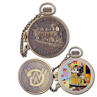 Disney Train Pocket Watch Series Pin - Minnie Mouse - Limited Edition