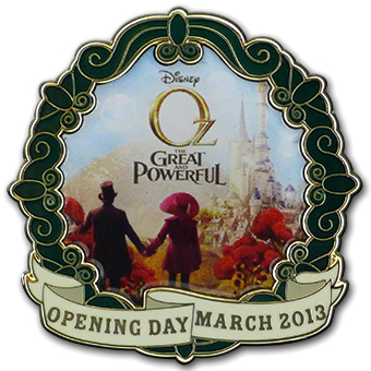 Disney OZ The Great and Powerful Pin - Opening Day - LE