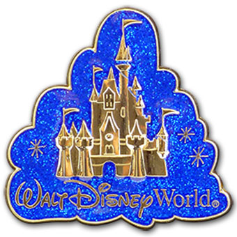 Disney World Pin - Cinderella Castle