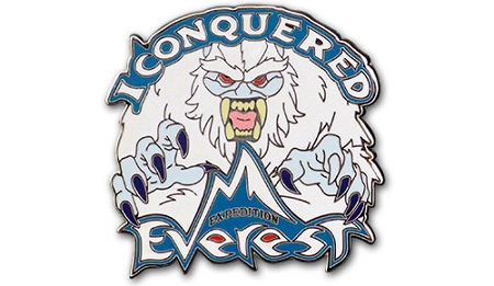Disney Expedition Everest Pin - I Conquered Everest - Yeti