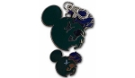 Disney Lanyard Medal and Pin - Mickey Mouse Icon - Animal Figures