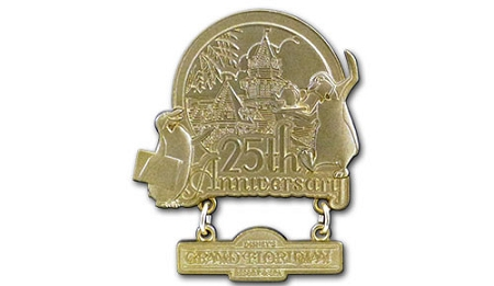 Disney's Grand Floridian Pin - 25th Anniversary - Limited Edition