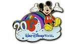 Disney Mickey Mouse Pin - 2013 Walt Disney World Rainbow - LE