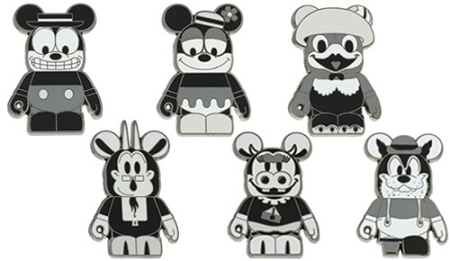 Disney Mystery Pin Set - Vinyl Classic Characters