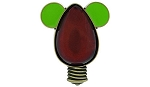 Disney Christmas Pin - Mickey Mouse light-bulb