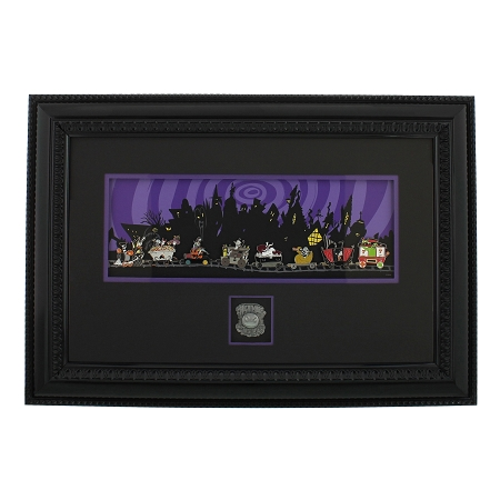 Disney Frame and Pin Set - Nightmare Before Christmas 20th Anniversary