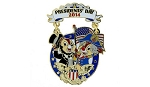 Disney Presidents Day Pin -  2014 Chip and Dale - Limited Edition