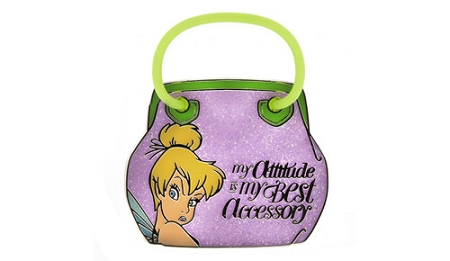 Disney Tinker Bell Pin - My Attitude Is My Best Accessory - Tink Purse