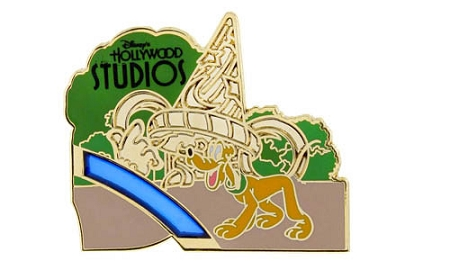 Disney Annual Passholder Pin - 2014 Hollywood Studios Puzzle - Pluto