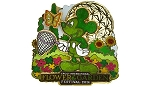 Disney Flower & Garden Festival Pin - 2014 Topiary Mickey Mouse