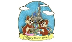 Disney Easter Pin - Happy Easter 2014 - Chip & Dale