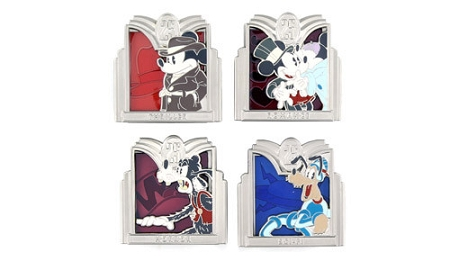 Disney Hollywood Studios Pin Set - 25th Anniversary – Genre Pin Set