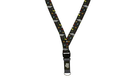 Disney Deluxe Pin Lanyard - Hollywood Studios 25th Anniversary