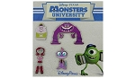 Disney Booster Pin Set - Monsters University Booster Set