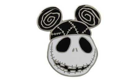 Disney Jack Skellington Pin - Jack Wearing a Ear Hat