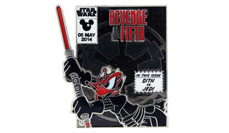 Disney Star Wars Pin - 2014 Revenge of the Fifth - Sith Donald