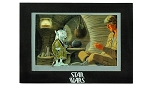 Disney Star Wars Weekends - 2014 Jumbo Yoda Pin with Mini-Print