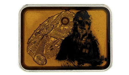 Disney Annual Passholder Pin - Star Wars Weekends 2014 - Chewbacca