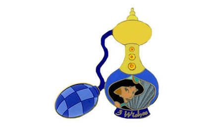 Disney Eau De Magique Pin - Perfume Bottle - Jasmine - August