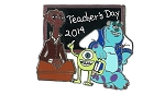Disney Teacher Day Pin - 2014 National Teacher Day - MU