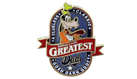Disney Father's Day Pin - Goofy - World's Greatest Dad