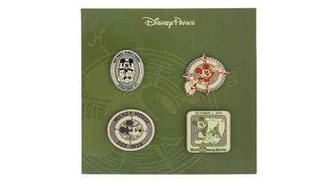 Disney Mickey Mouse Pin Set - Mickey Patches