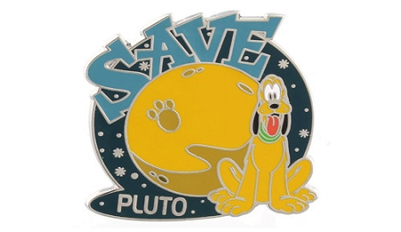 Disney Pluto Pin - Save Pluto