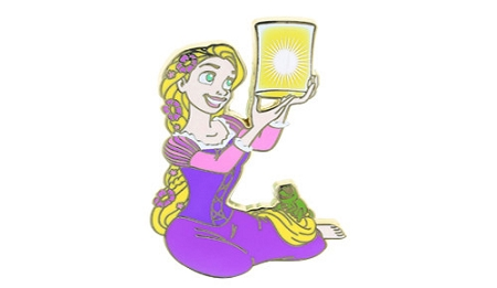 Disney Princess Pin - Rapunzel with Lantern