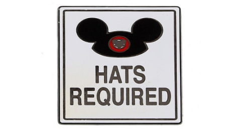 Disney Ear Hat Pin - Hats Required