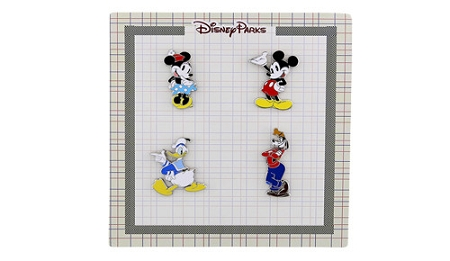 Disney Booster Pin Set - Classic Mickey and Friends Characters