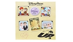 Disney Booster Pin Set - Pixar's UP - Carl and Ellie thru the Years